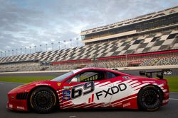 #69 AIM Autosport Team FXDD Racing with Ferrari Ferrari 458