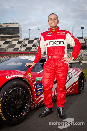 #69 AIM Autosport Team FXDD Racing with Ferrari Ferrari 458: Jeff Segal