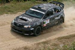 Steeve Hobbs en Jean-Mathieu Tremblay, Subaru WRX Sti