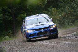 Hardy Schmidtke en John Hall, Mitsubishi EVO IX