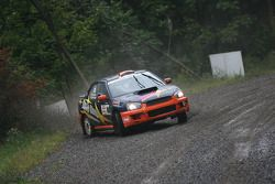 Marc Bourassa en Daniel Paquette, Subaru Impreza Sti