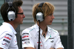 Brendon Hartley, piloto de pruebas, Mercedes AMG F1