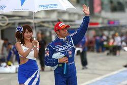 GT500 pole winnaar Joao Paulo de Oliveira