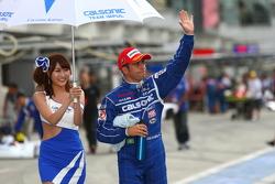 GT500 pole winner Joao Paulo de Oliveira