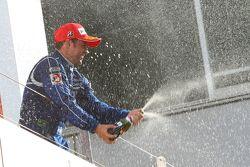 GT500 podium: winnaar Joao Paulo de Oliveira
