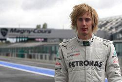 Brendon Hartley, piloto de prueba, Mercedes AMG F1