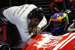 Karun Chandhok and David Brabham