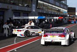 Martin Tomczyk, BMW Team RMG BMW M3 DTM and Andy Priaulx, BMW Team RBM BMW M3 DTM