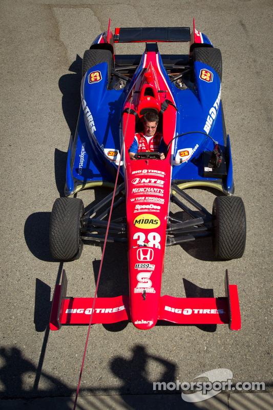 Car of Graham Rahal, Service Central Chip Ganassi Racing Honda