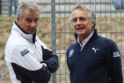 Jens Marquardt, BMW Motorsportdirektor; Charly Lamm, Teammanager BMW Team Schnitzer