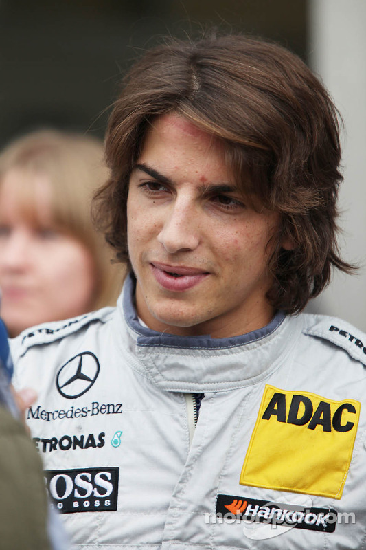 Roberto Merhi, Persson Motorsport, AMG Mercedes C-Coupe