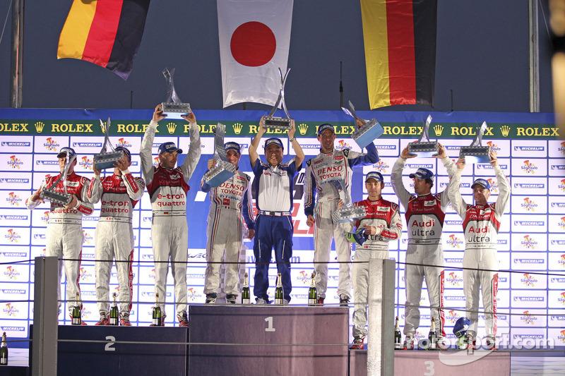 2012 - Nicolas Lapierre, Alexander Wurz, #7 Toyota