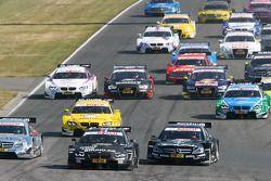 Bruno Spengler, BMW Team Schnitzer, BMW M3 DTM, Jamie Green, Team HWA AMG Mercedes, AMG Mercedes C-C