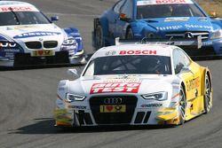 Timo Scheider, Audi Sport Team ABT Sportsline, Audi A5 DTM; Roberto Merhi, Persson Motorsport, AMG M