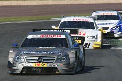 Christian Vietoris, Team HWA AMG Mercedes, AMG Mercedes C-Coupe; Timo Scheider, Audi Sport Team ABT