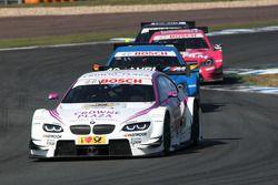 Andy Priaulx, BMW Team RBM, BMW M3 DTM; Roberto Merhi, Persson Motorsport, AMG Mercedes C-Coupe