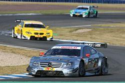 Jamie Green, Team HWA AMG Mercedes, AMG Mercedes C-Coupe; Dirk Werner, BMW Team Schnitzer, BMW M3 DT