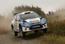 Alastair Fisher en Daniel Barrit, Ford Fiesta S2000