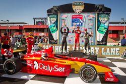 Carlos Munoz, Andretti Autosport, David Ostella, Team Moore Racing, Esteban Guerrieri