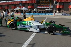 Car of Simona de Silvestro, HVM Racing Lotus