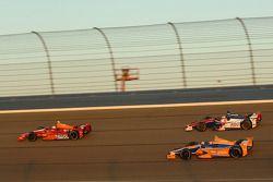 EJ Viso, KV Racing Technology Chevrolet, Wade Cunningham, A.J. Foyt Racing Honda, Charlie Kimball, N
