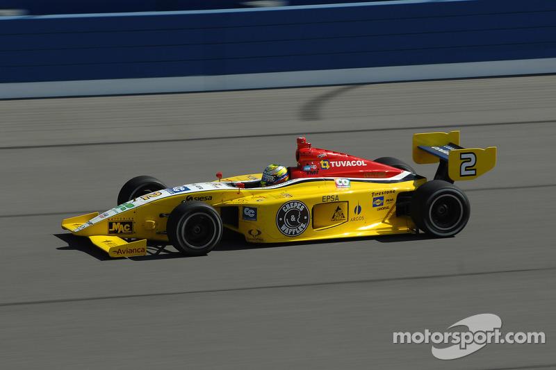 Gustavo Yacaman, Team Moore Racing and Carlos Munoz, Andretti Autosport