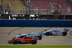 Carlos Munoz, Andretti Autosport, Esteban Guerrieri, Sam Schmidt Motorsports e Tristan Vautier