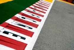 Kerbs on the track