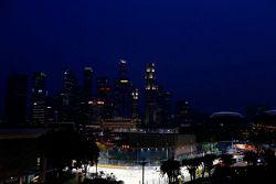 De Singapore skyline