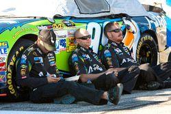 The Roush-Fenway Racing crew