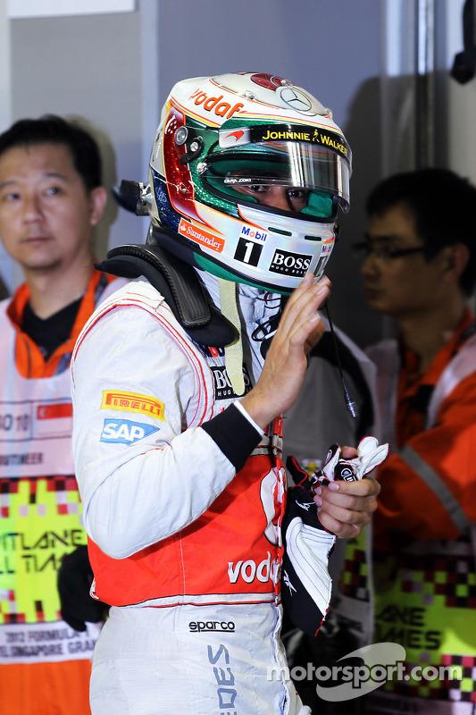 Ganador de la pole position  Lewis Hamilton, McLaren