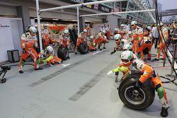 Sahara Force India F1 Team pit stops