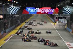 Lewis Hamilton, McLaren líder al inicio