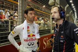 Mark Webber, Red Bull Racing con Ciaron Pilbeam, Red Bull Racing ingeniero