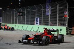 Timo Glock, Marussia F1 Team y Charles Pic, Marussia F1 Team