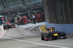 Sebastian Vettel, Red Bull Racing y Jenson Button, McLaren