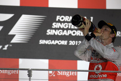 Podium: 2e Jenson Button, McLaren Mercedes