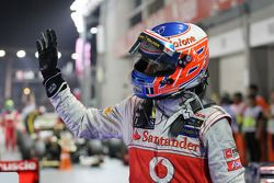 Segundo lugar Jenson Button, McLaren