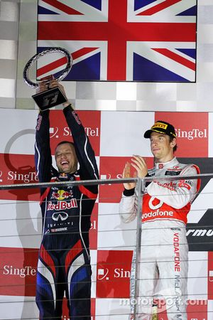 Podio: Ole Schack, Red Bull Racing Mecánico