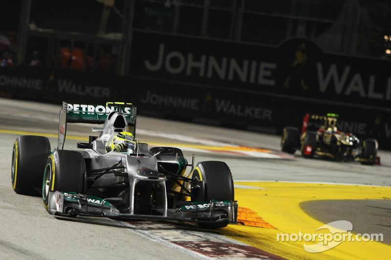 Nico Rosberg - 20 grandes premios
