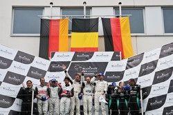 Pro class/overall podium: Rudi Penders (Prospeed team owner),Congfu Cheng, Jeroen Bleekemolen, Mike