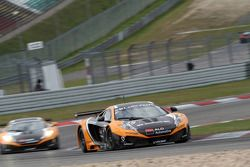 #15 Boutsen Ginion Racing McLaren MP4-12C GT3: Edouard Mondron, Jerome Thiry
