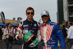 Signeersessie, Alberto Cerqui, BMW 320 TC, Wiechers-Sport