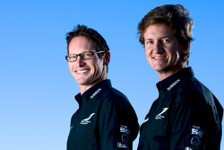 DeltaWing drivers Gunnar Jeannette and Lucas Ordonez