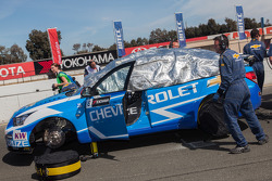 Alain Menu's car on the grid