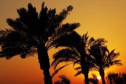Zonsondergang over Bahrein