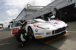#10 Sunred Ford GT: Benjamin Lariche, Laurent Groppi