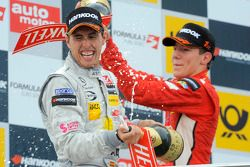 Podium: second place Daniel Juncadella