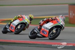 Nicky Hayden and Valentino Ross, Ducati Marlboro Team