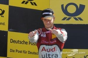 Podium: second place Adrien Tambay, Audi Sport Team Abt